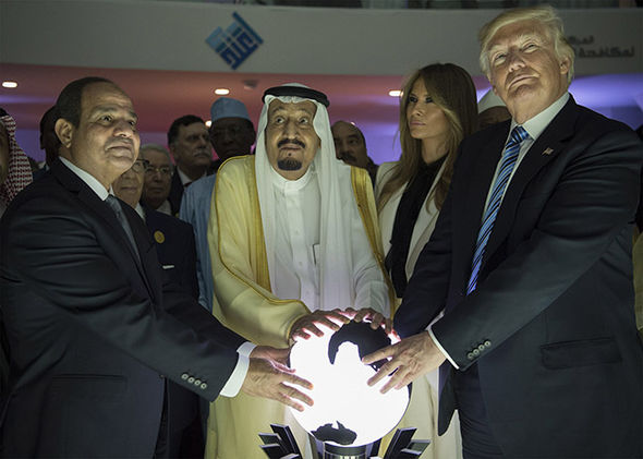 Donald Trump in Saudi Arabia