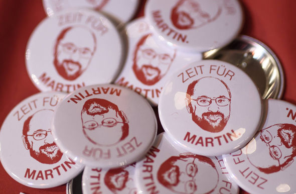 Martin Schulz badges