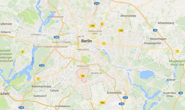 Mariendorf map