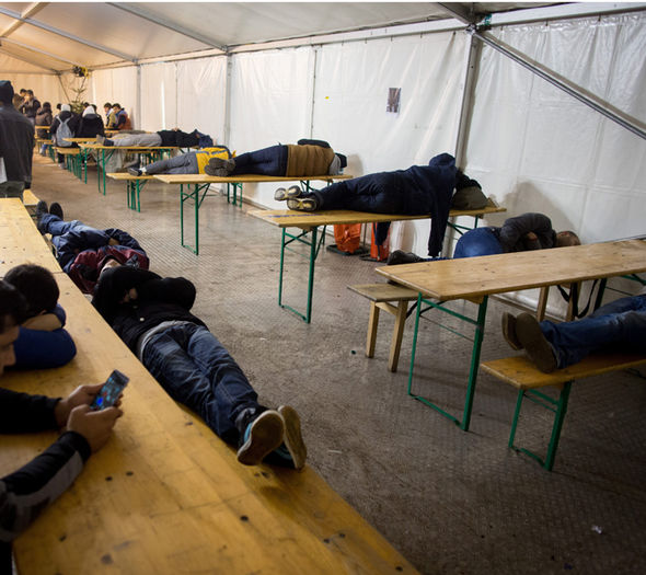 Lone migrants are arriving in European countries