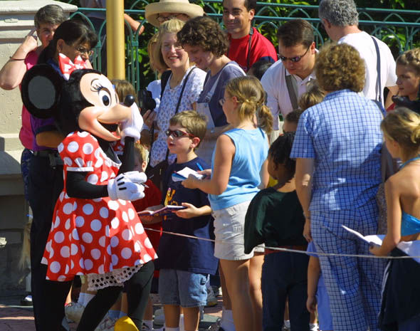 Minnie Mouse at Disney World Florida