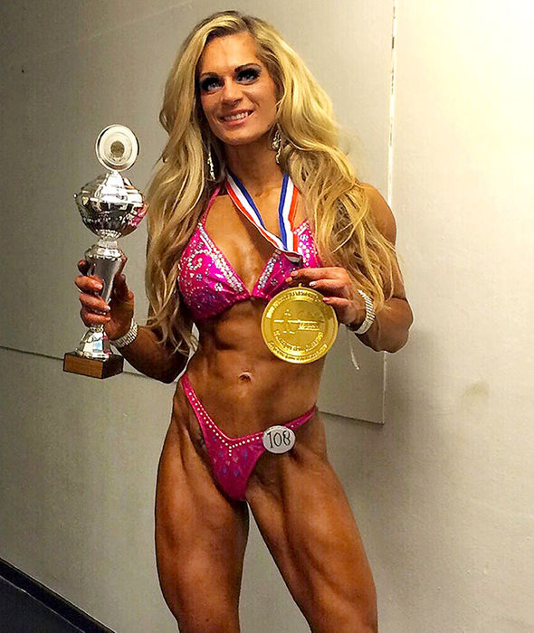 Mrs Nellen-Van has competed in 17 competitions and recently won first place for her strength