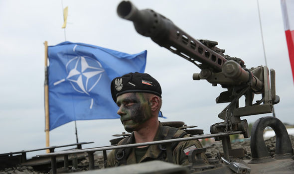 NATO EU army Trump defence