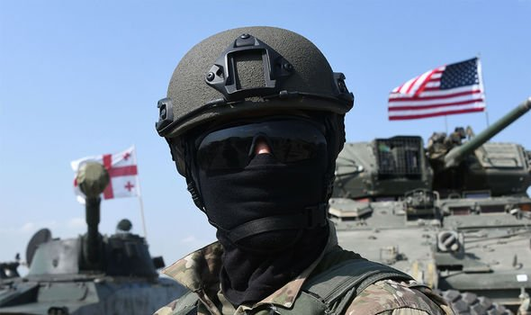 NATO: Russia says the US is too active in its border regions