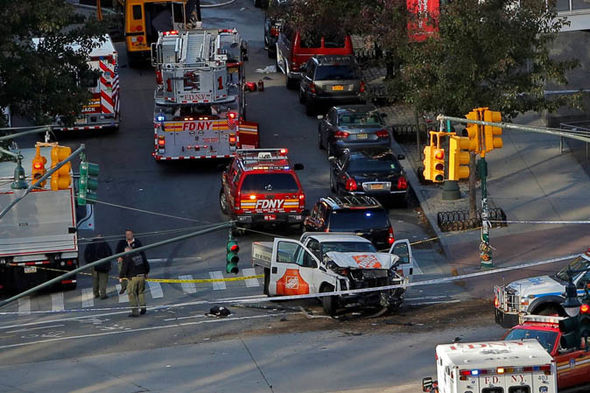 New York terror attack: The truck used