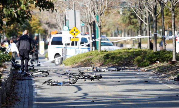 New York terror attack: Broken bikes