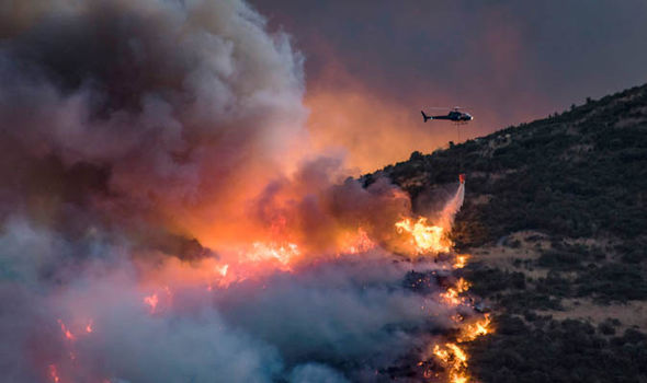 New Zealand wildfires