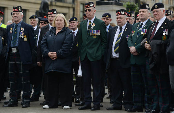Northern Ireland soldiers Troubles rallies Frankenstein Justice system veterans