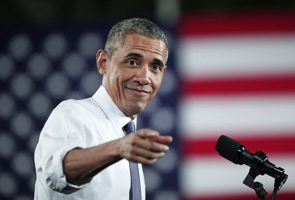 Barack Obama took a call from frontrunner Emmanuel Macron earlier this week