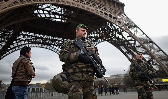 Paris security