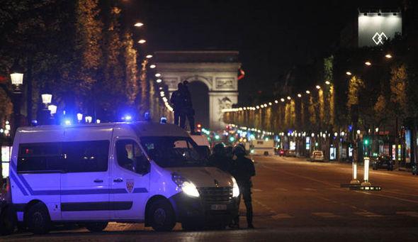 Paris attack shooting