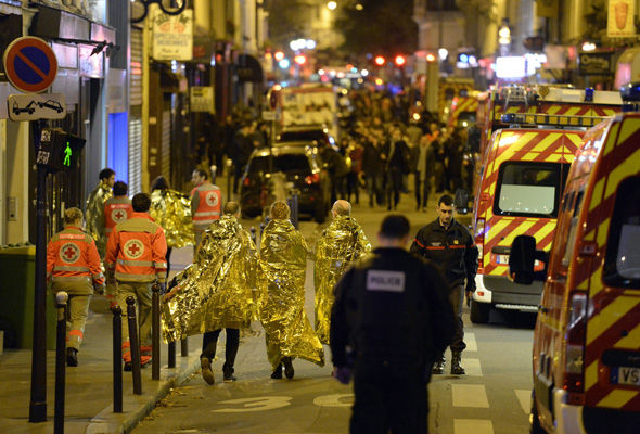 ISIS was responsible for the Paris terror attacks