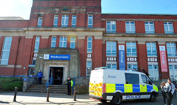 Bury College police incident