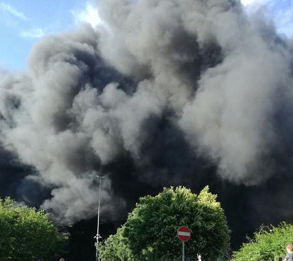 Pope Vatican fire smoke