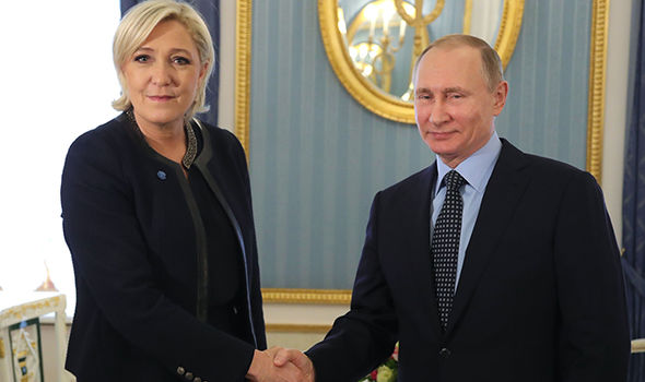Putin Le Pen