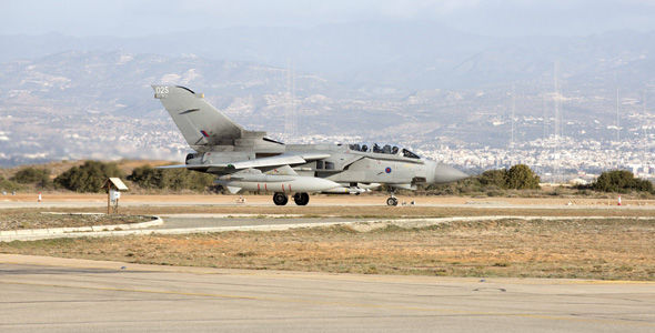 The RAF have started bombing ISIS targets in Syria