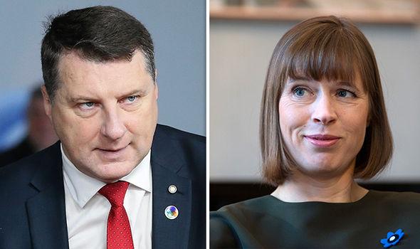 Raimonds Vejonis Kersti Kaljulaid