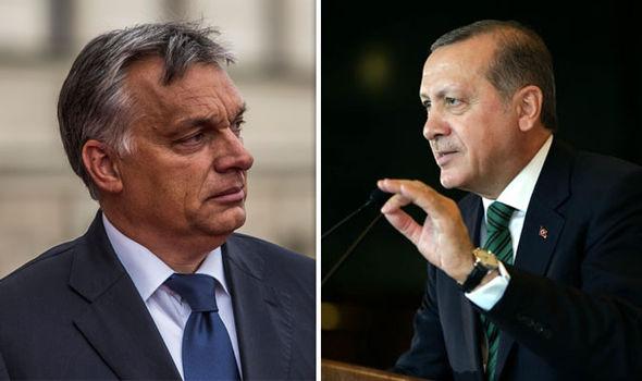 Hungary's President Viktor Orban and Turkey's Recep Tayip Erdogan have both criticised the EU