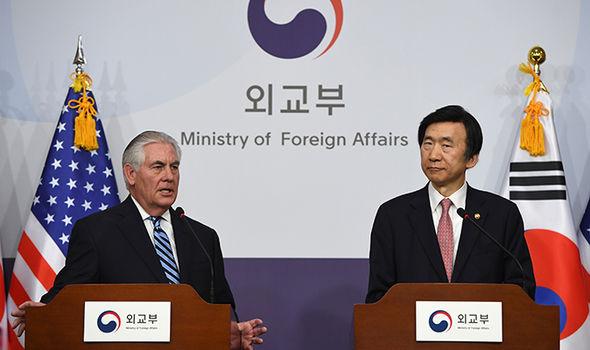 Rex Tillerson In South Korea