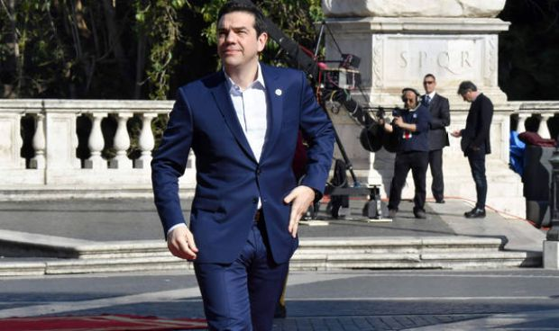The under-fire Greek president is facing calls to stand down