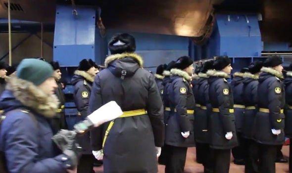 Russia Missile sub