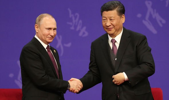 Russia and China have strengthened their relations