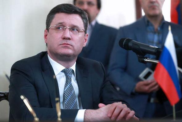 Russian Energy Minister, Alexander Novak