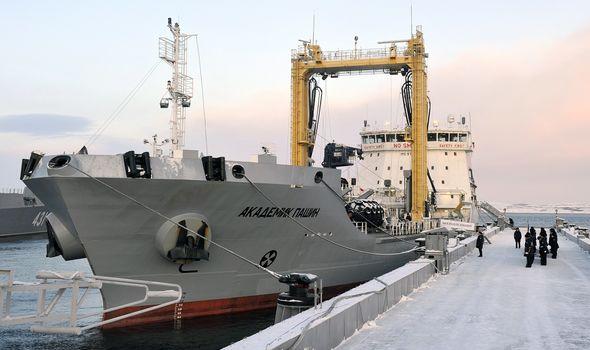 Russia Navy ship