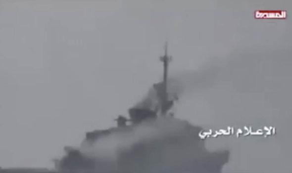 Saudi warship explosion