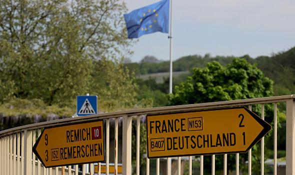 Schengen signs