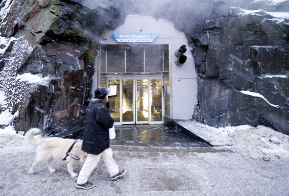 A former Cold War era bunker in Stockholm now hosts Wikileaks servers