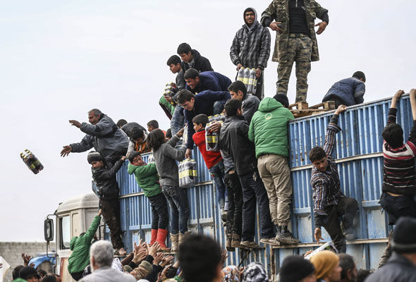 More than two million Syrian refugees have travelled to Turkey