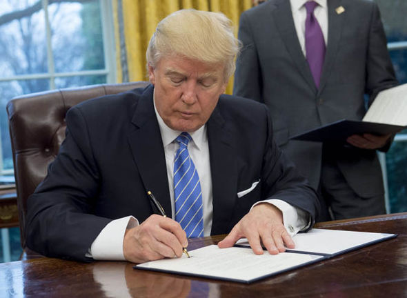 Donald Trump withdrawing from TPP