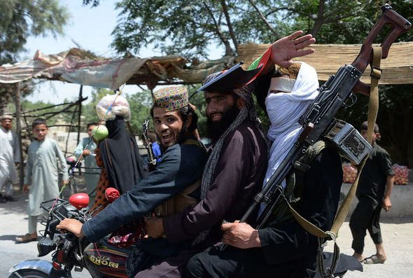 Taliban fighters Afghanistan