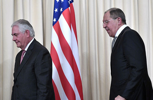 Tillerson Russia frosty relation
