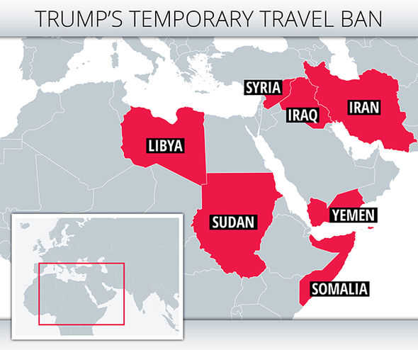 Donald Trump bans immigration from 7 countries