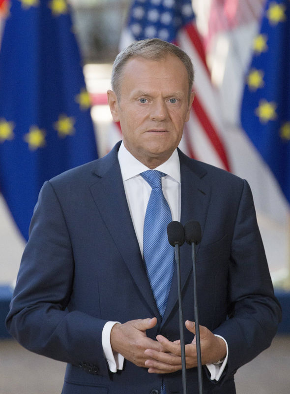 European Council chief Donald Tusk also sent out the guidelines