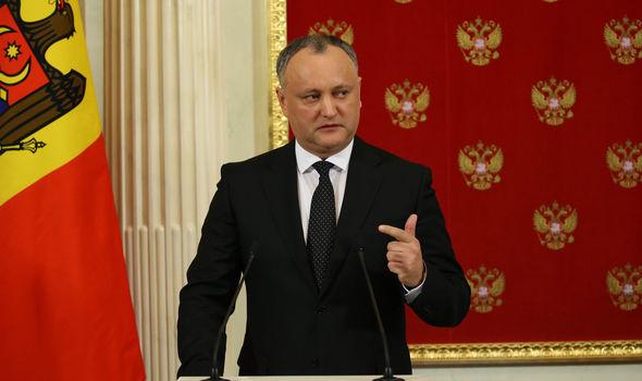 oldovan President Igor Dodon visited Russia last week