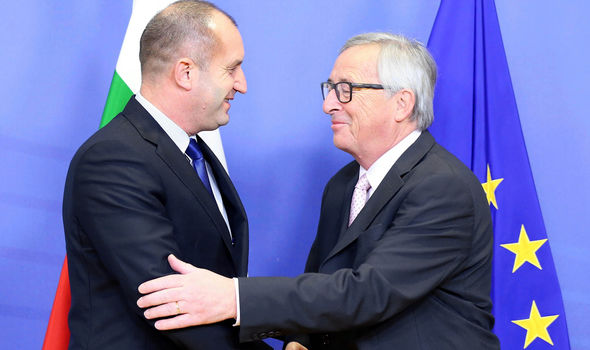 Mr Radev met Mr Juncker this week on his first trip to Brussels