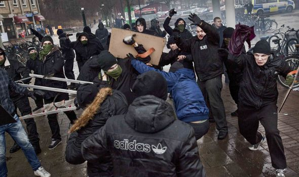 There has been riots on the streets in Sweden