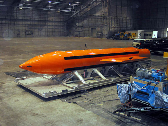 The MOAB bomb