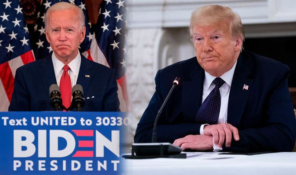 US election 2020: Biden and Trump
