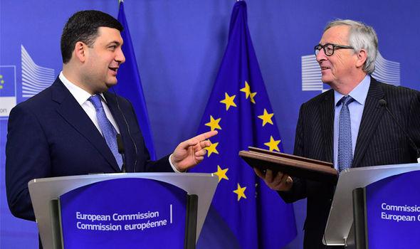Juncker Ukraine