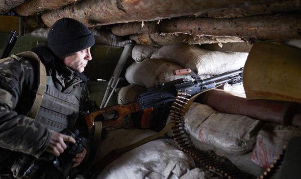 Avdiivka soldier