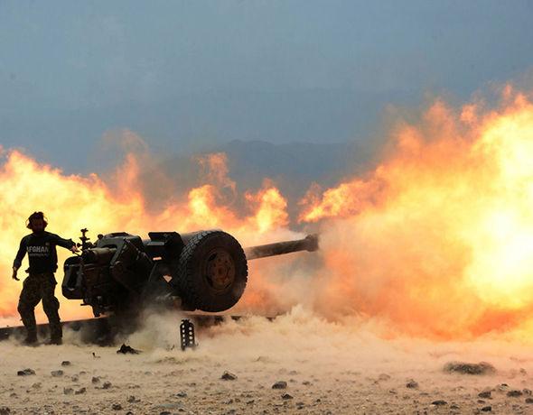 Forces battle against ISIS