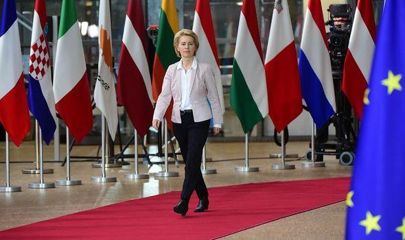 Ursula von der Leyen is the European Commission's President
