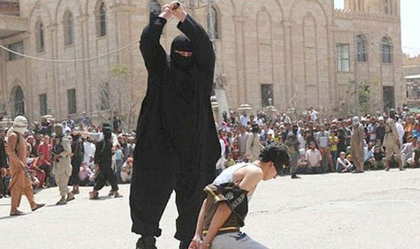 The ISIS executioner known as The Bulldozer