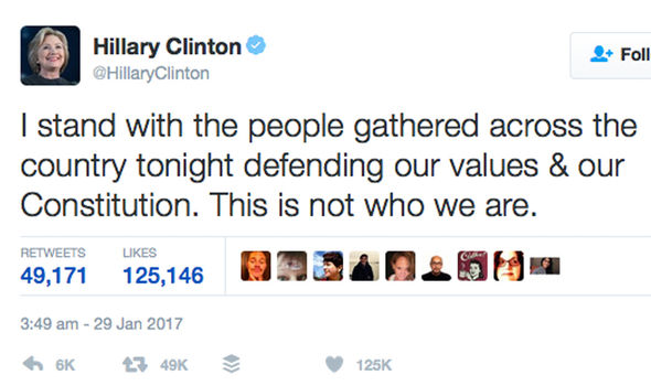 hillary clinton tweet