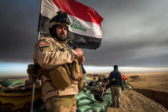 iraq frontline