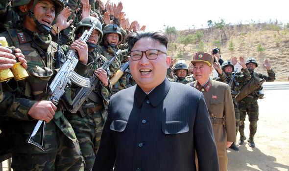 Kim Jong Un and military